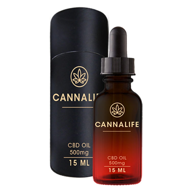 Cannalife CBD Oil 500mg